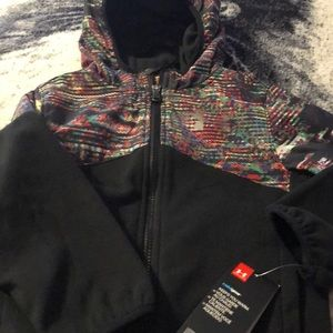 NWT zip up hooded jacket